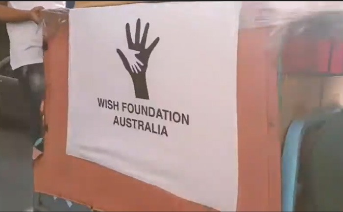 WISH FOUNDATION distributed the final batch of the One Million Campaign