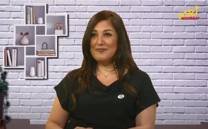 Al Nour Maana with Mrs. Verna Jabbour