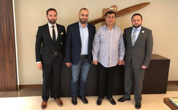 تكريم السيد محمد الحوت، رئيس مجلس إدارة طيران الشرق الأوسط (MEA)