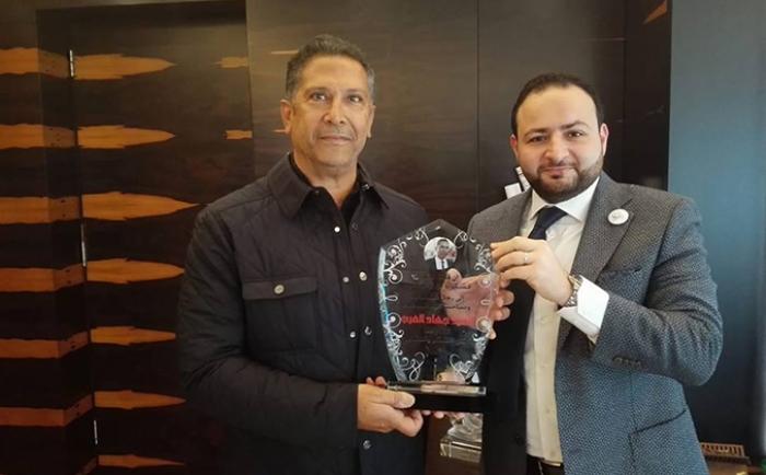 تكريم السيد جهاد العرب