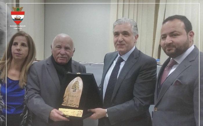 Honoring Beirut Municipality, Eng Jamal Itani