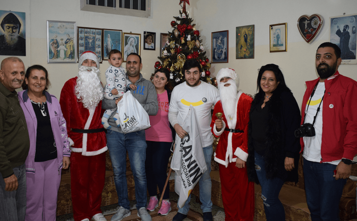 Celebrating Christmas in Tyre