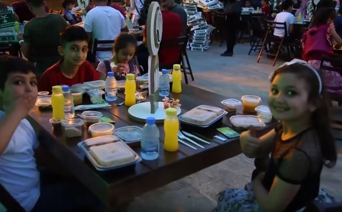 Iftar was held for children of Banin in Tripoli by an invitation of the head of the Department of North Lebanon, Mr. Luqman al-Kurd