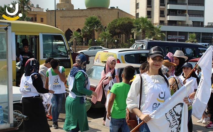 Banin Charity Association took the initiative to clean the beach of sidon