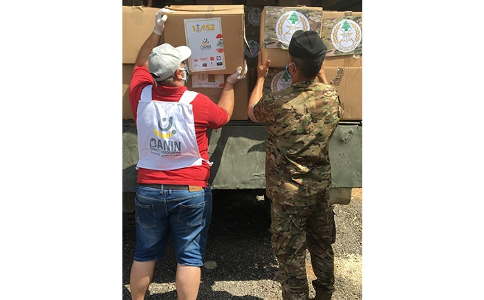 لمحة عن الصور أثناء توزيع الحصص في حملتنا 10452