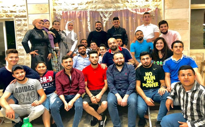 Ramadan Suhoor in Sir Al-Diniyeh in Honor of Northern Volunteers
