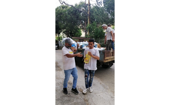Distribution of Food Supplies in Tire District