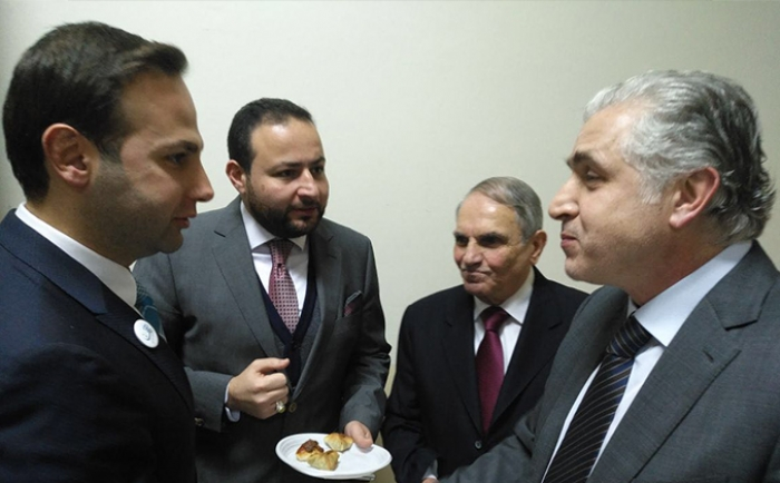 تكريم رئيس بلدية بيروت، المهندس جمال عيتاني.